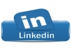share the steps to creating a professional profile on LINKEDIN