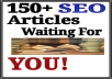 write high quality article for your blog or website for