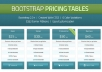 design responsive pricing table