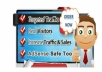 Send 12,000+ Real TRAFFIC (USA & world wide) from Search Engine & Social Network to Your Website/Blog