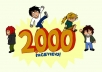 give you 2000 Pageviews Daily for 7 days On Your Website Link