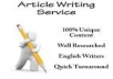 write your articles for you
