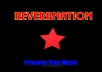 guarantee Reverbnation Promoting with traffic and song plays 100% Guaranteed