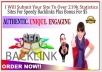 submit your site to over 219,000 sites for speedy backlinks
