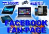 Design a Beautiful,Excellent and Electrifying Looking Facebook   FANPAGE