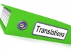 translate beween English and Arabic