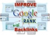 create over 2000 backlinks for your website/blogs