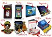 design 2D or 3D ebook CD DVD package cover