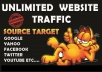 give You daily1000 plus real visitors for 1month u WEBSITE