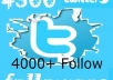 get you 4000 real twitter followers for