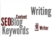 write a 500 word SEO article