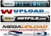 give you Filesonic and Wupload Premium account working 1 Month