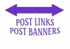 post your link or banner for you
