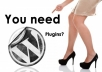 provide any wordpress plugin in