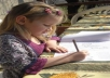 do a fairytale colouring ebook for your child
