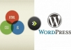 conver html to wordpress