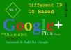 give you 1000 US base Google Plus Circle Followers within 24-48 hours f