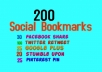 promote your site by social bookmarks