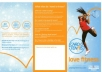 create 3 leaflets to promote your buisness