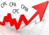 teach you how to make 3000 dollars monthly from cpa