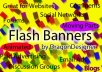 make you a simple flash banner