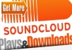 give 5000 soundcloud plays and downloads