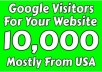 drive 10,000 Google traffic with in 7 days