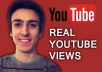 give you 2000 REAL youtube views