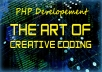 Help coding and bugs fixes in PHP developement