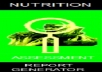 assess your nutritional status and give advice