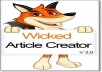 give you wicked article creator V3