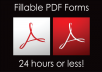 edit or create a fillable pdf form