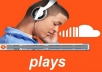 Give 10,000 Real SoundCloud Plays on your Track - Unlimited SPLITT