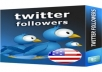 Add 1000 Guaranteed USA HQ Twitter Followers