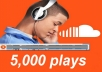 Give 5000 Real SoundCloud Plays on your Track - Unlimited SPLITT
