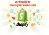 Setup An UNLIMITED Shopify Trial Account For You