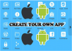 let you build unlimited IOS and Android applications