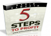 "Send you book link""5 Steps to Profit"""