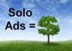 Blast your Solo ads and Email ads to Massive number of Subscriber List