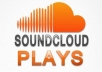Drive REAL 10,000 GENUINE SONG PLAYS TO YOUR SOUNDCLOUD PROFILE UNLIMITED SPLIT