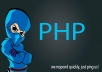 fix and write PHP, HTML,CSS Jquery,JS,Mysql code