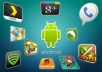 test your android application