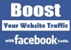 promote your website with 250,000 facebook fans