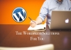create a beautiful Wordpress blog
