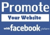 promote your link or anything to 2000000 facebook group member