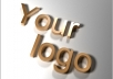 Make your logo in 3d