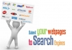 manually Submit your website to google, to 500 websites,130 backlinks