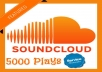 add 5000 plays to your soundcloud track