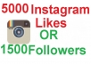 5000 Instagram or Facebook Post Photo Video Likes