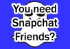 make your Snapchat Friendlist burn over